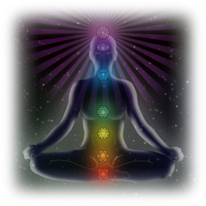 meditating chakras