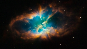 Planetary Nebula NGC 2818, Hubble Space Telescope